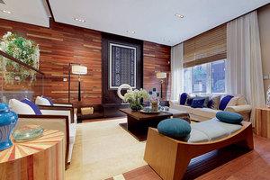 中式风格客厅01